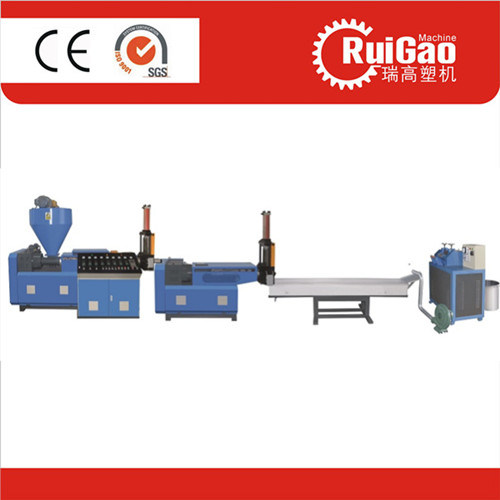 Double Screw High Quaility Plastic Pellet Press Machine pictures & photos