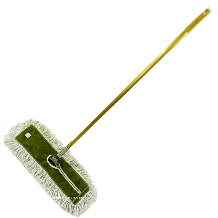 China Cotton Dust Mop with Aluminum Quick Change Unextension