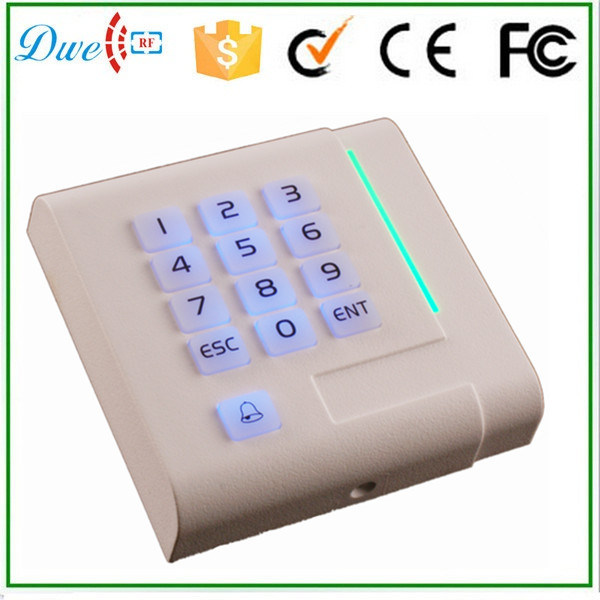 New Design Keypad Backlight Mf Wiegand Acess Contorl RFID Reader