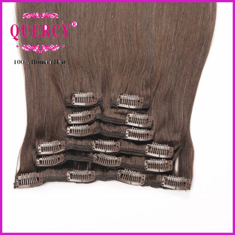 China Factory Price Selling Peruvian Clip In Hair Extension Clip