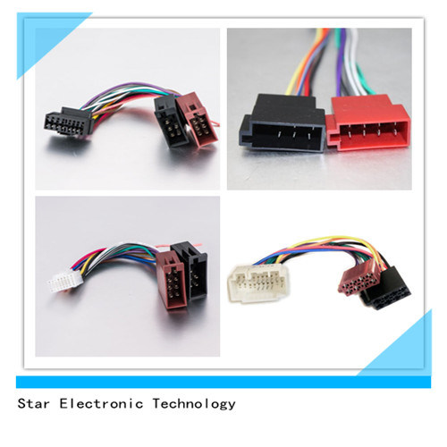 china factory of 16 pin car audio iso connector wiring harness plugs rh starconnect en made in china com