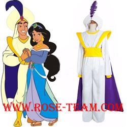 Animation Aladdin Prince Cosplay Costume Men Clothes uniform Fancy Dress New