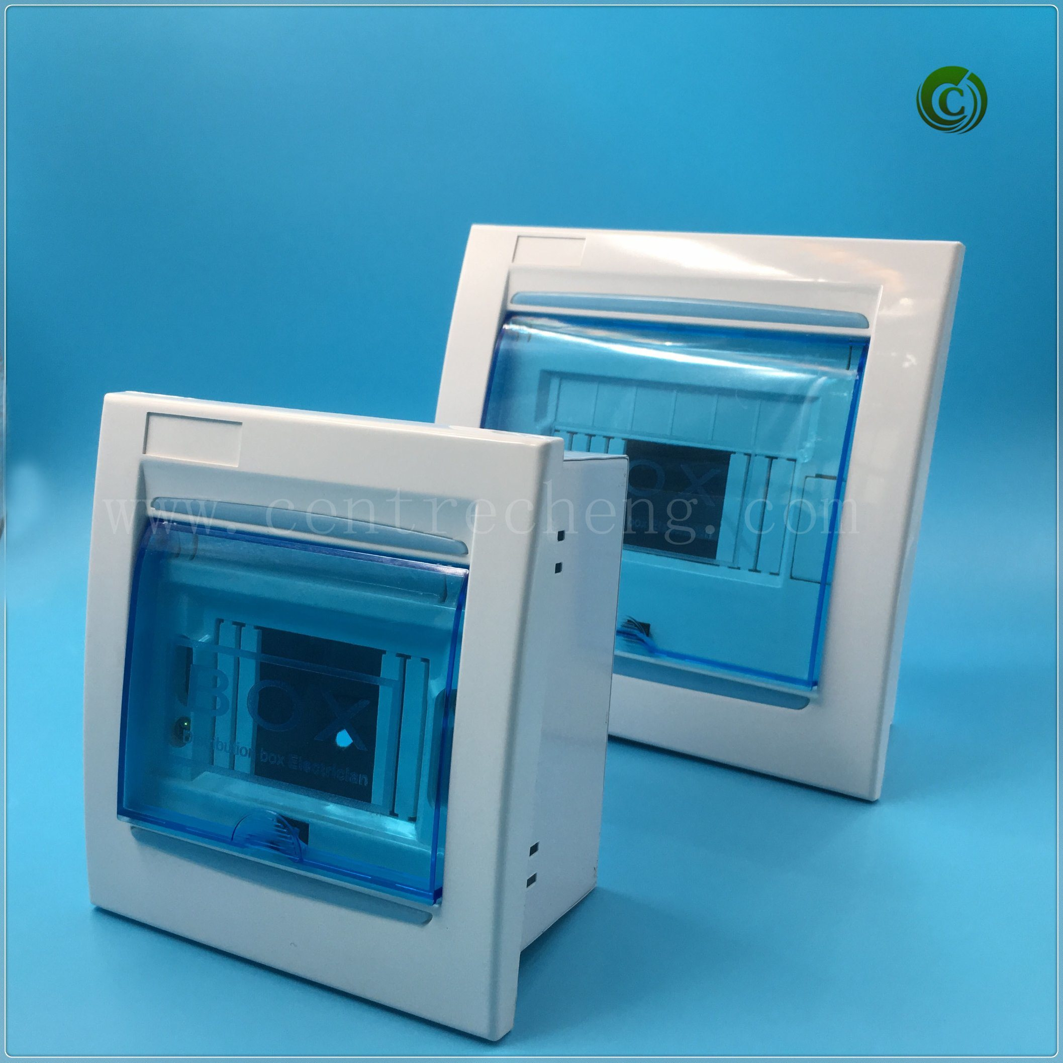 China Half Plastic Electrical Distribution Box, Power Box Electrical ...