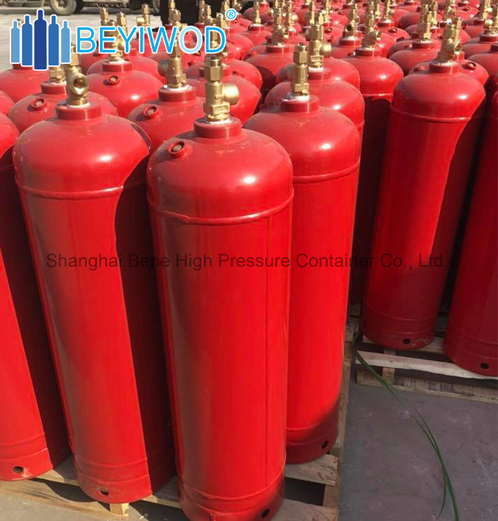 [Hot Item] 6 8kg 40L Acetylene Gas Cylinder with Acetone One Fusible Plug