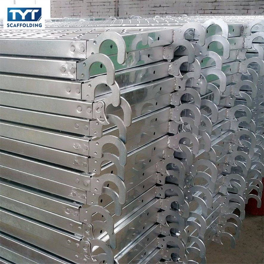 China Hot Dipped Galvanized Q195 Steel Catwalk/Scaffolding Plank ...