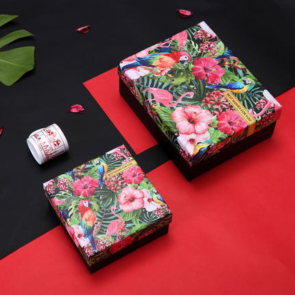 Creative Gift Box Size Rectangular Candy Literary Small Fresh Birthday Wedding