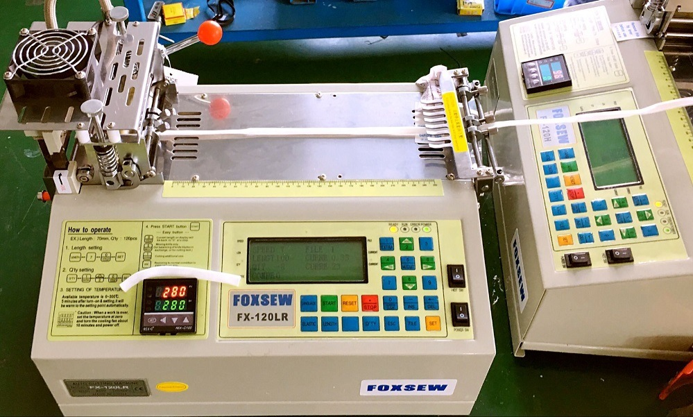 Automatic Polyester Tube Cutting Machine Hot and Cold Knife