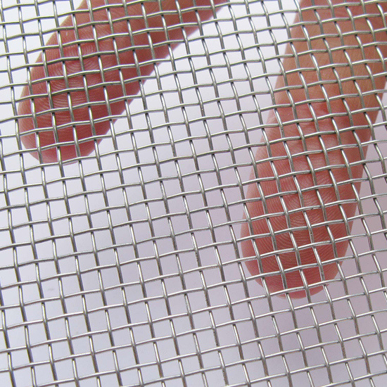 China Manufacturer Good Quality Galvanized Woven Square Wire Mesh ...