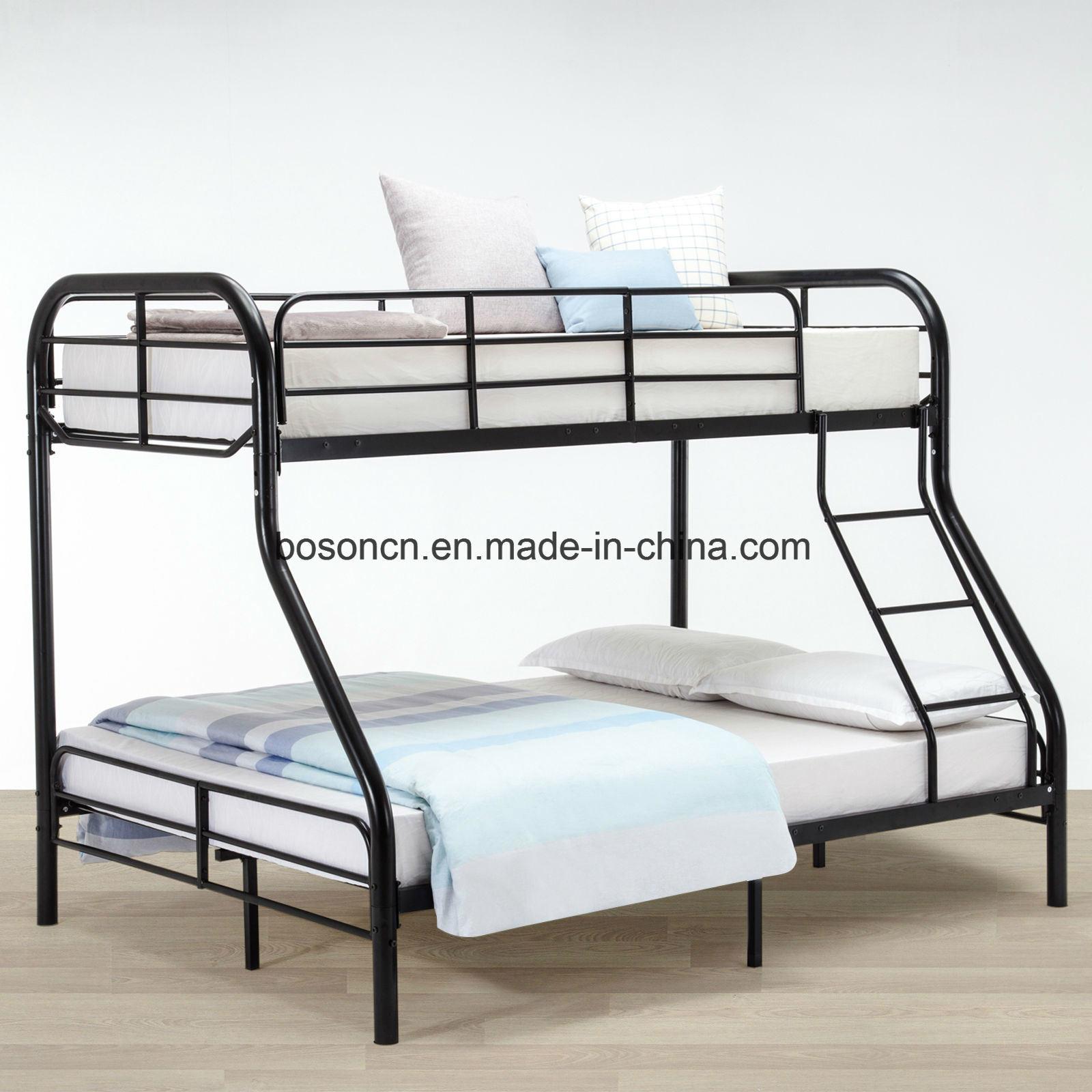China Hot Sale Bedroom Metal Bunk Bed China Metal Bunk Bed Frame Metal Double Bed
