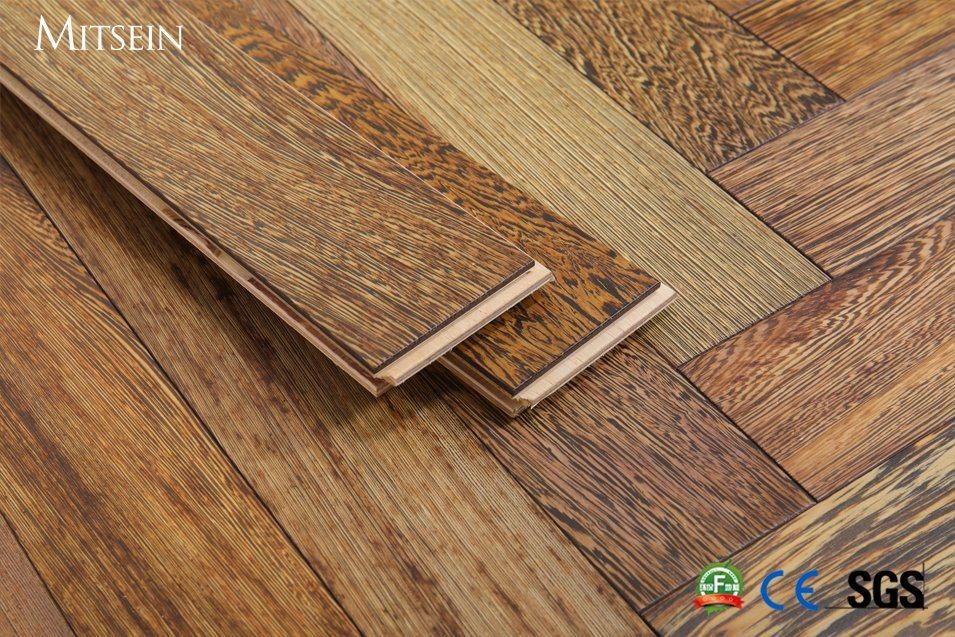 China Engineered Wenge Herringbone Wood