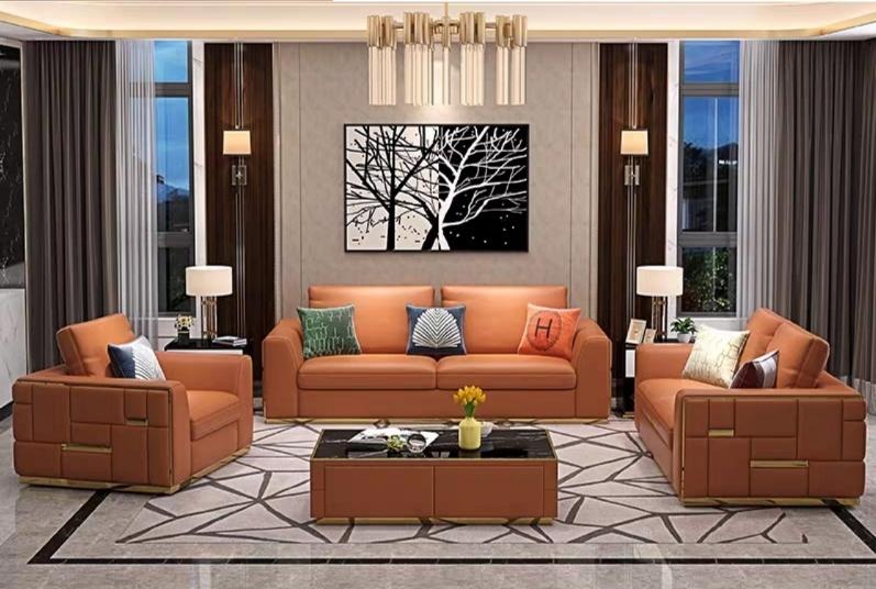 Living Room Furniture Fabric Sofa Set, Living Room Sofa Set Designs