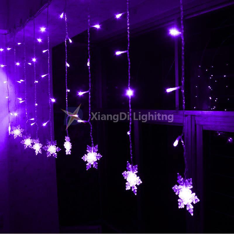 Purple Christmas Tree Lights.Hot Item Icicle Star Led Christmas Tree Light