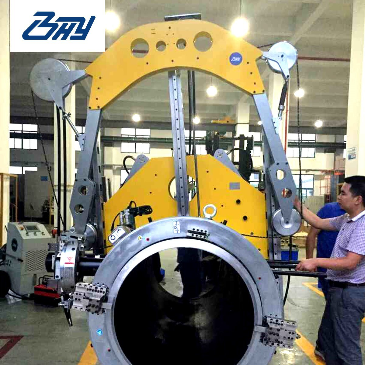 China Hydraulic Diamond Wire Saw/Pipe Concrete Cutting Machine ...