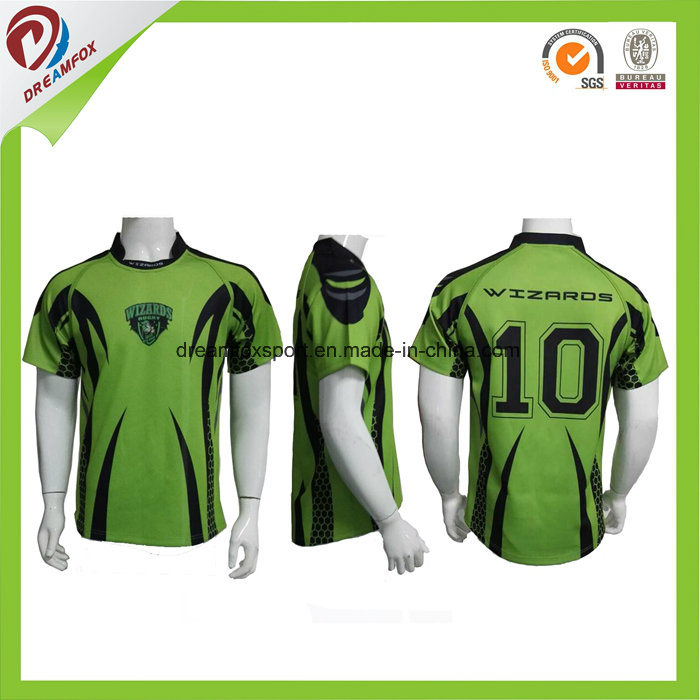 a5b71158ca China Sublimation Custom Cheapteam Set Striped Wholesale Fiji Rugby League  Jersey - China Rugby Jersey, Team Set Striped Rugby Jersey for Wholesale