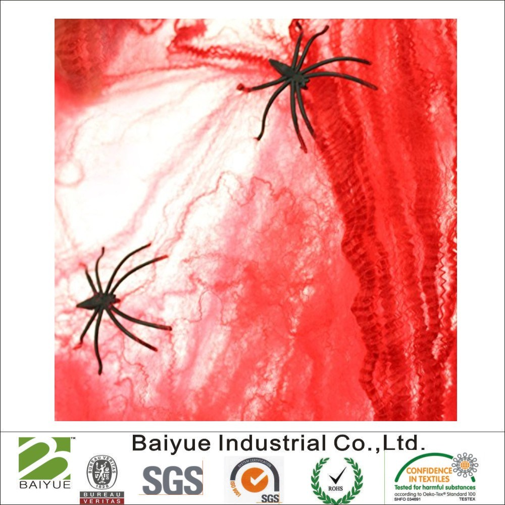 China Halloween Spider Web and Cobweb Haunted House Decoration ...