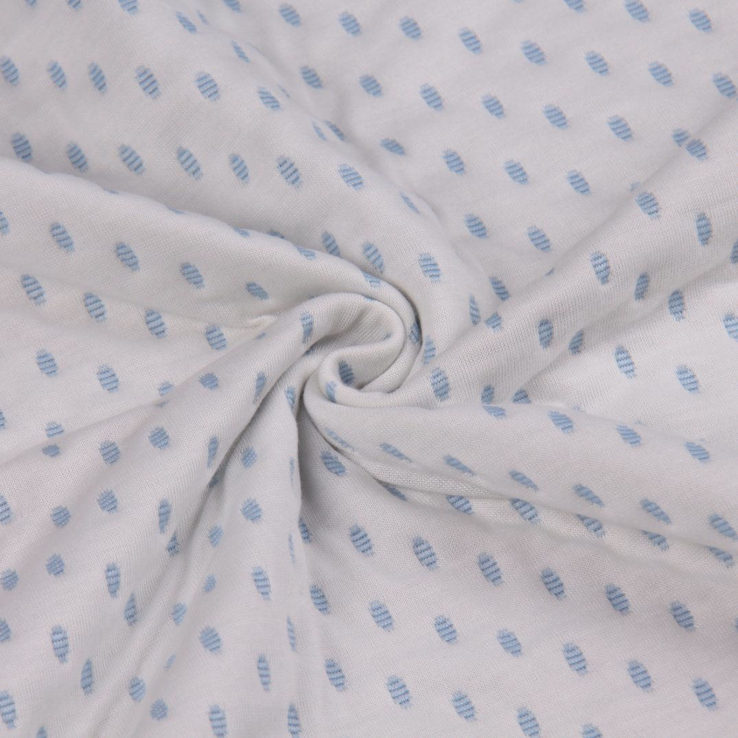 China New Style Jacquard Knitting Polyester Fabric For Mattress And Bedcover Pillow Bed Cover