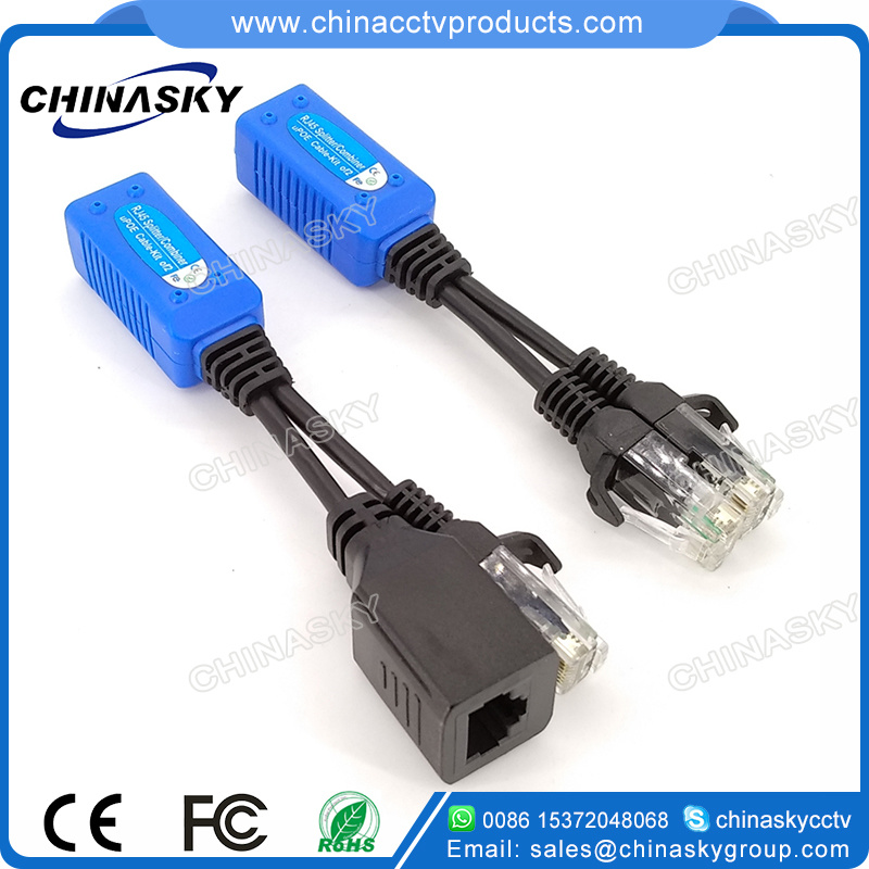 China RJ45 Splitter/Combiner, Upoe Cable, Poe and Network ...