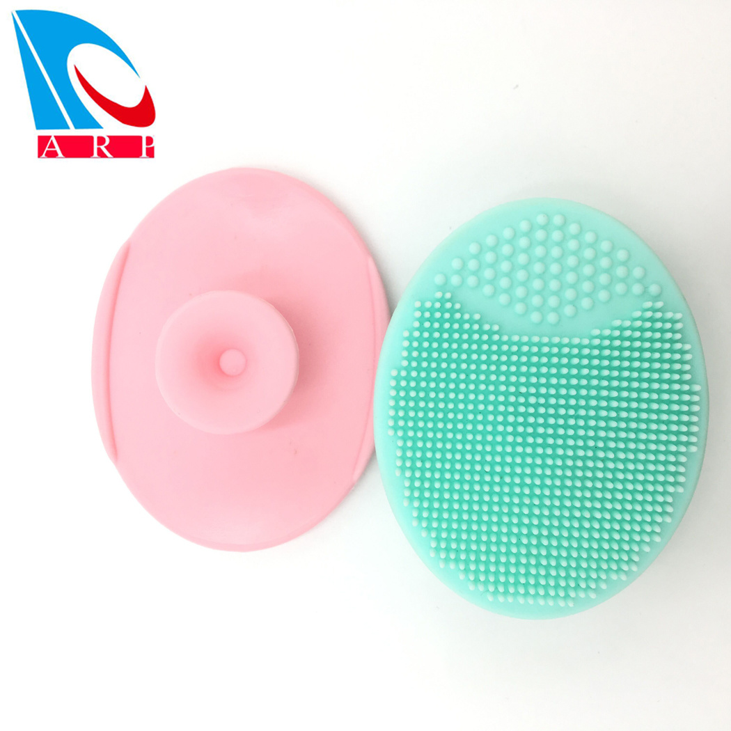 China Soft Silicone Face Scrubber Exfoliators Face Wash Brush