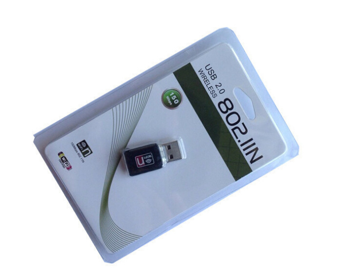 Ce RoHS Certification Rt5370 USB Dongle 150Mbps Wireless WiFi USB Adapter pictures & photos