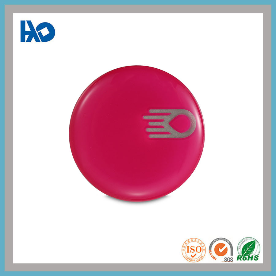 China high quality custom screen printing 3d epoxy sticker logo china printing 3d logo epoxy sticker logo