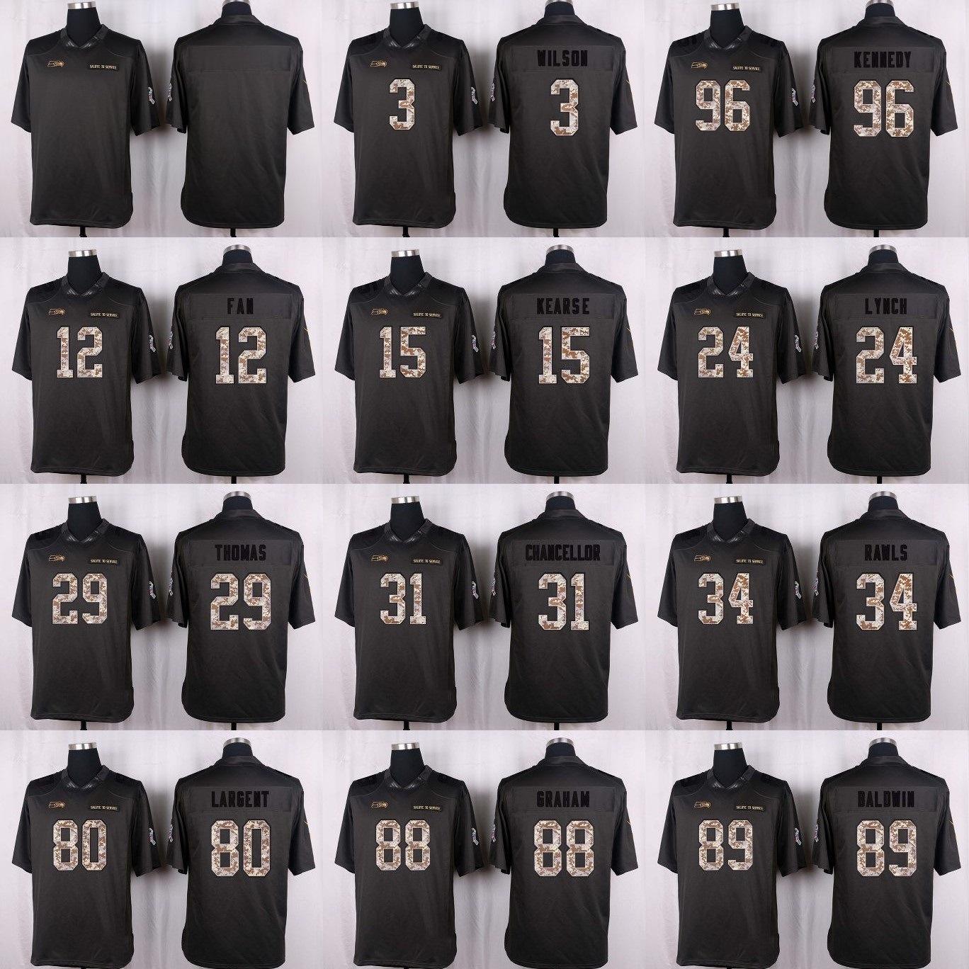 buy online b7c50 312cb [Hot Item] Rees Odhiambo Skyler Phillips George Fant Seattle Football  Jerseys