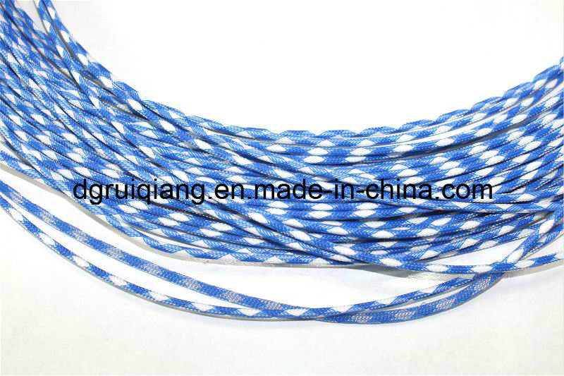 China 6mm Polyester Monofilament Braided Cable and Wire Harness ...