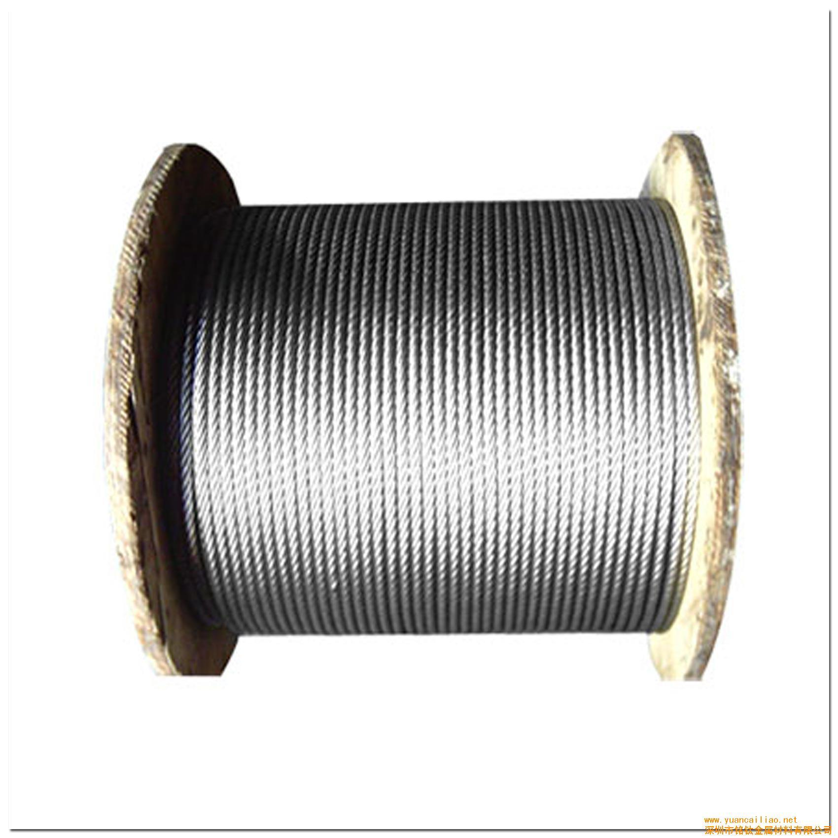 China Ungalvanized and Galvanized No-Rotaing Steel Wire Rope with ...