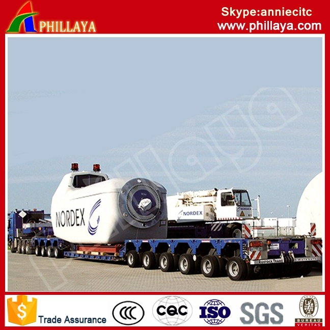 4+6 (5+5 available) Modular Trailer 250 Ton Girder Transportation/Girder Trailer pictures & photos
