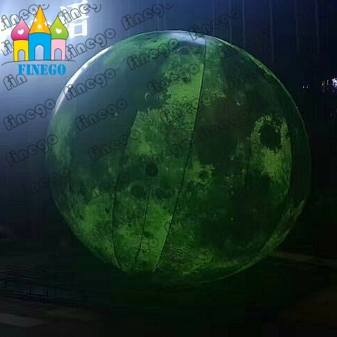 China Finego Inflatable Balloon Moon Air Mars for Park Decoration ...