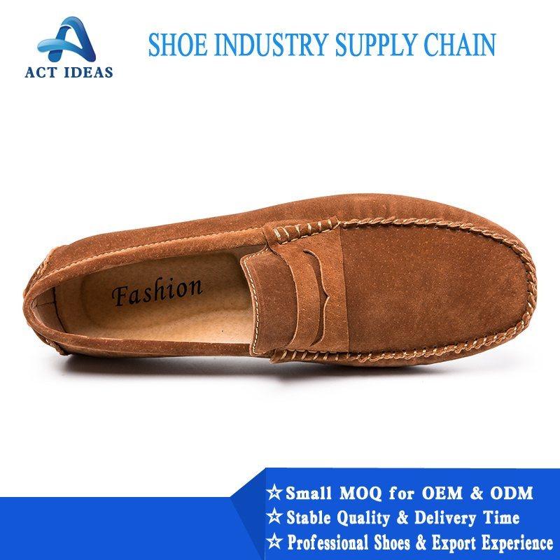 China Custom Leather Mens Dress Shoes