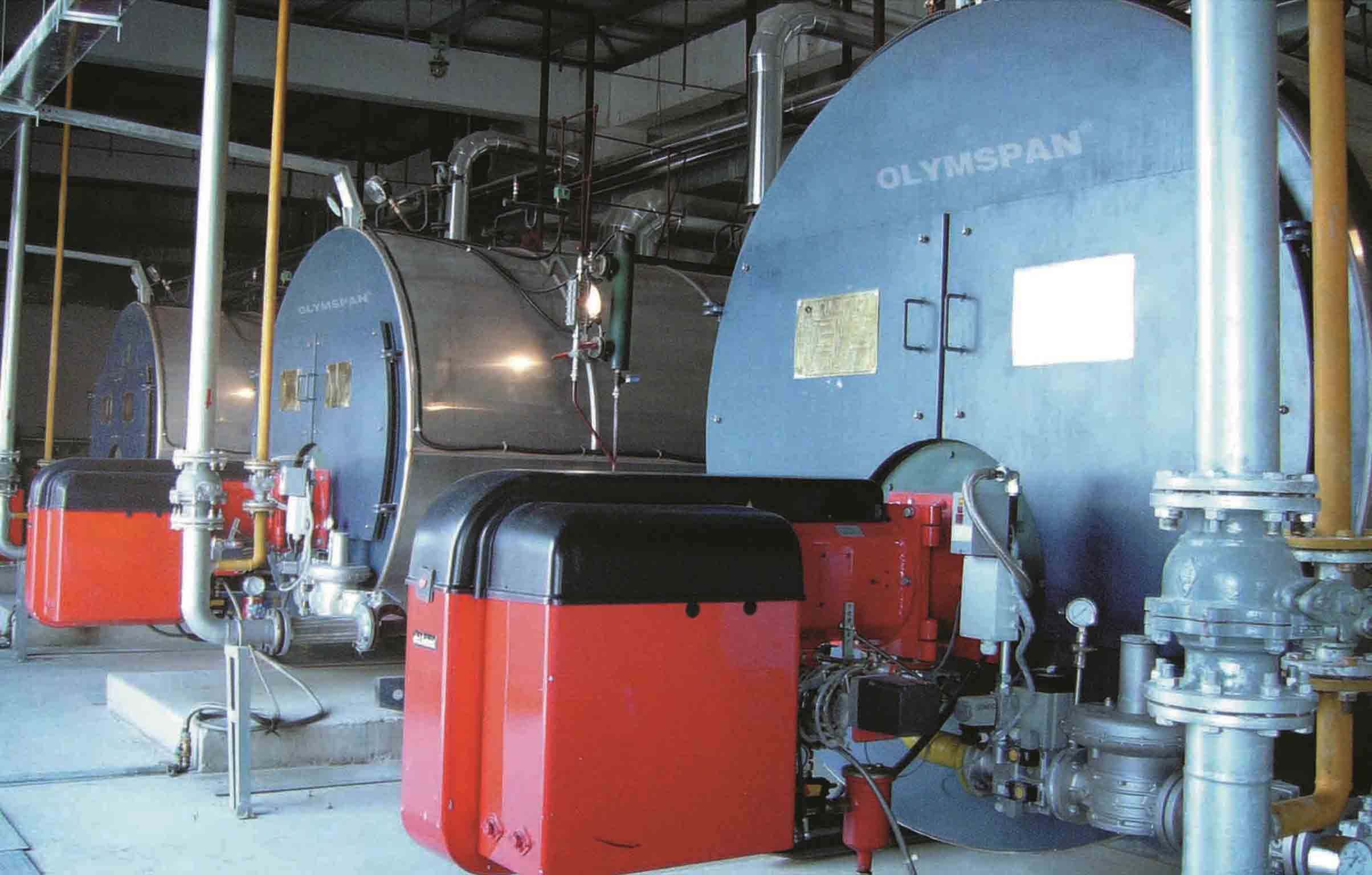 China Oil (gas) Fired Fire-Tube Wet-Back Steam/ Hot Water Boiler for ...
