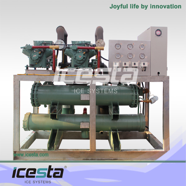 Industrial CE Approved Containarized Block Ice Machinery