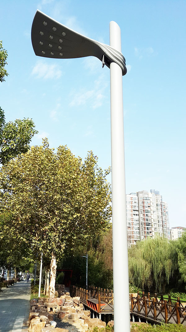 LED Light Pole Sidewalk Lighting