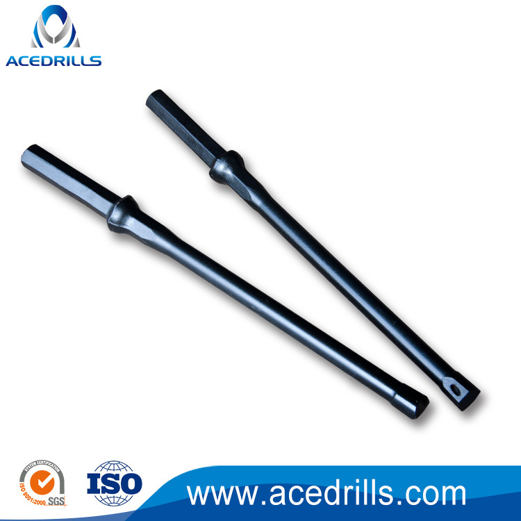 China Drilling Plug Hole Chisel Bit H22 Integral Rock Drill Rod Steel Rods