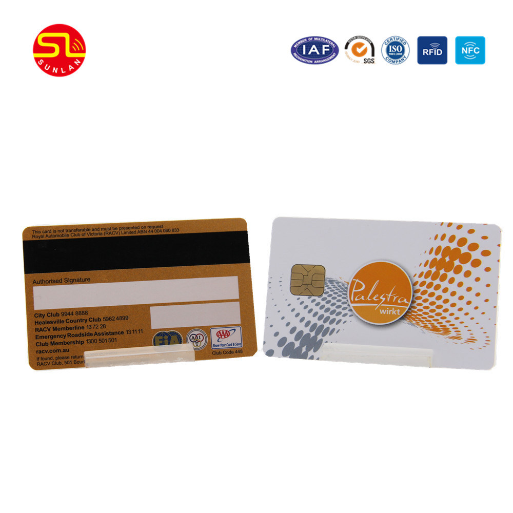 PVC Prepaid RFID Contactless Card with Signature Panel pictures & photos