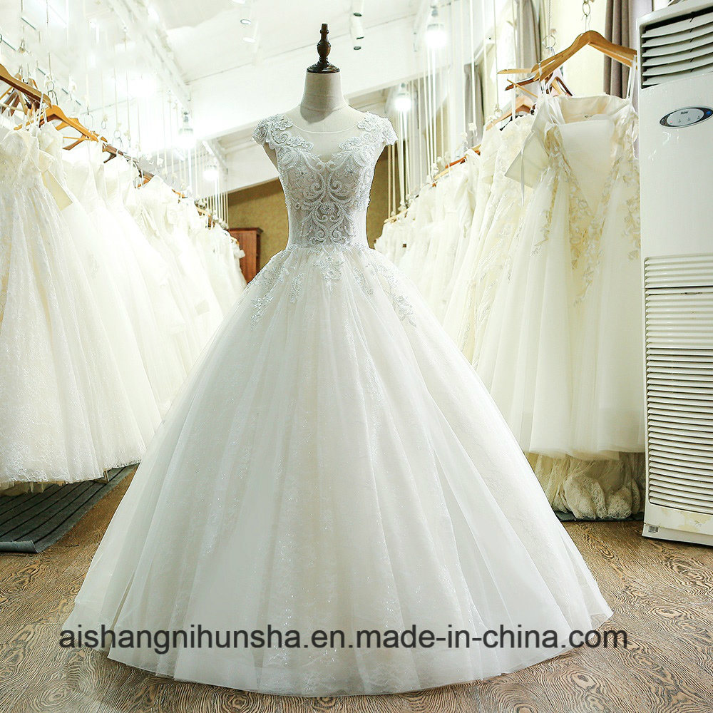 Custom Made China Vintage Ball Gown Wedding Dress 2017 - China ...