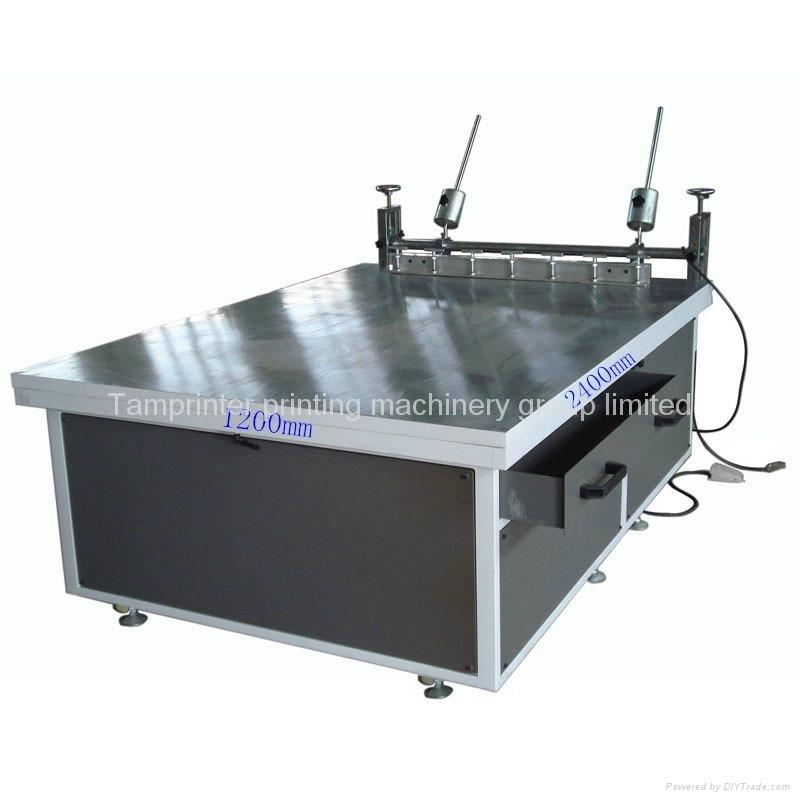 [Hot Item] Large Glass Manual Screen Printing Machine