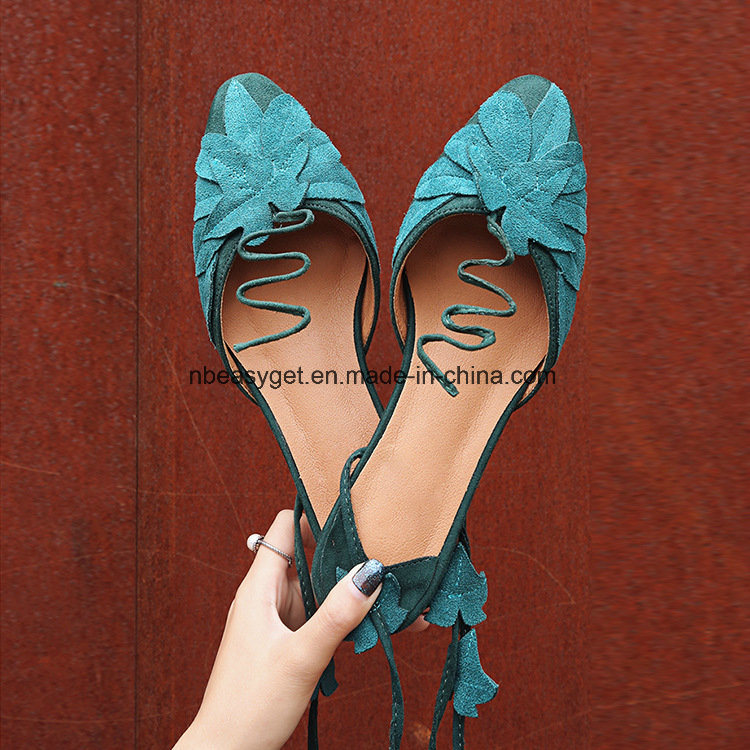 8abb58aa2fc3 Lace-up Sandals Fashion Womens Summer Cross Straps Flat Sandals Strappy Flip -Flops Beach Shoes Esg10582