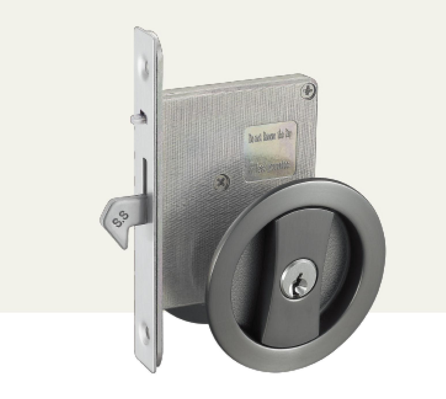 China Black Zinc Alloy Pocket Lock Sliding Door Lock China Sliding Door Lock Hotel Lock