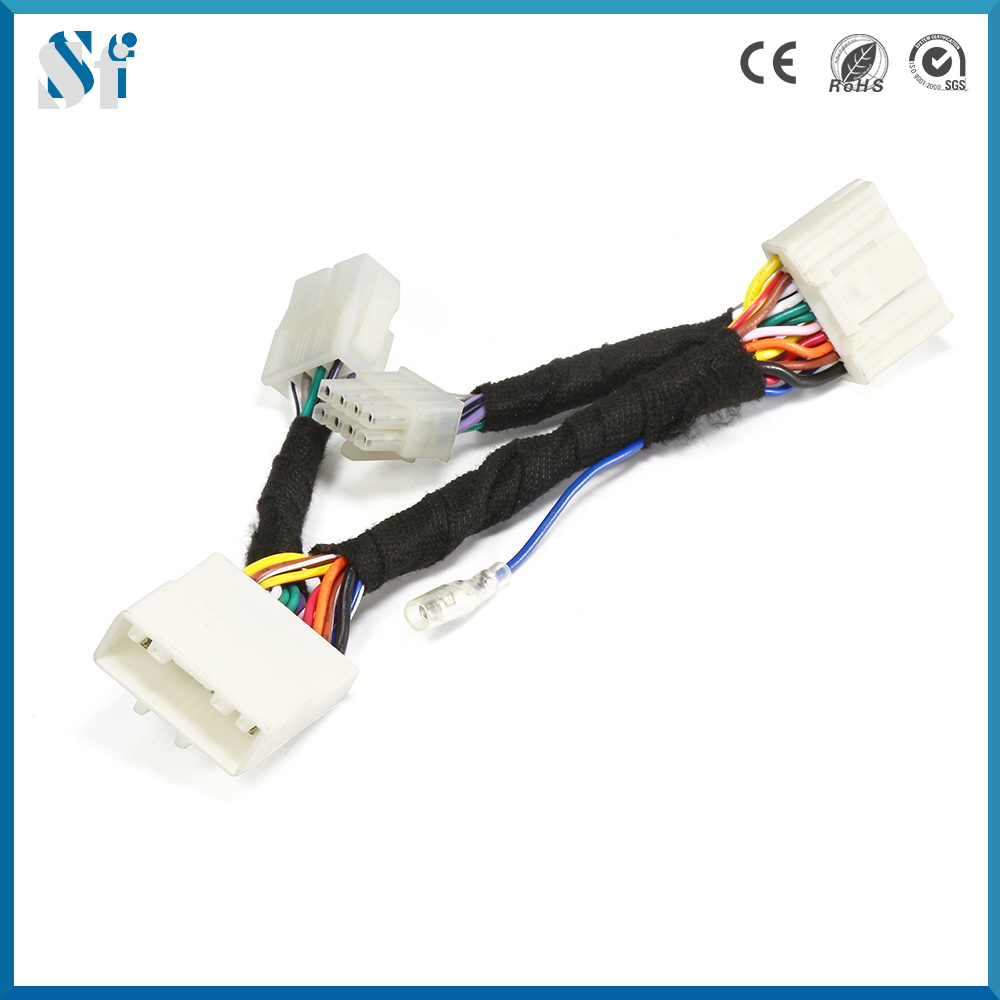 Automotive Wiring Harness Materials Library Wire Ends China Low Voltage 16 20awg Industrial Cable Connectors