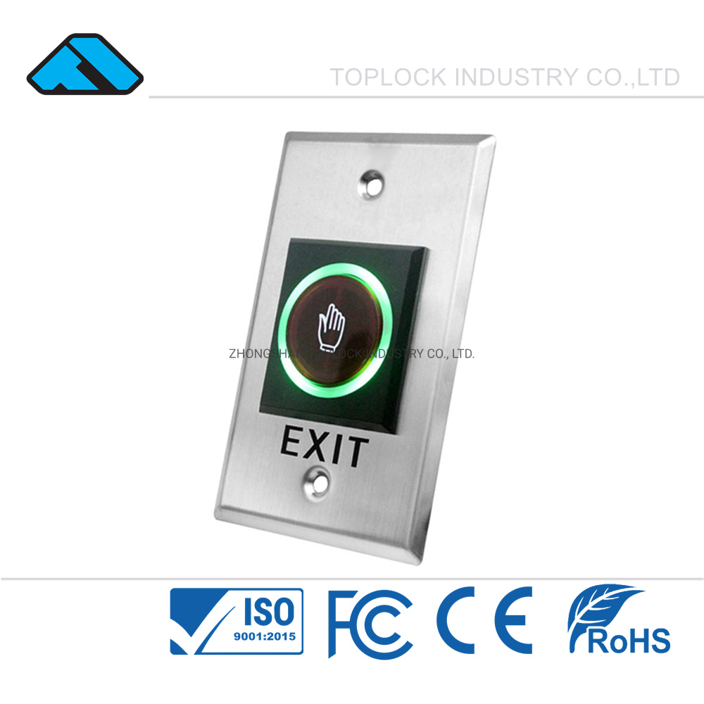 Electric Door Exit Push Lock Release Button Switch For Access Control Systems