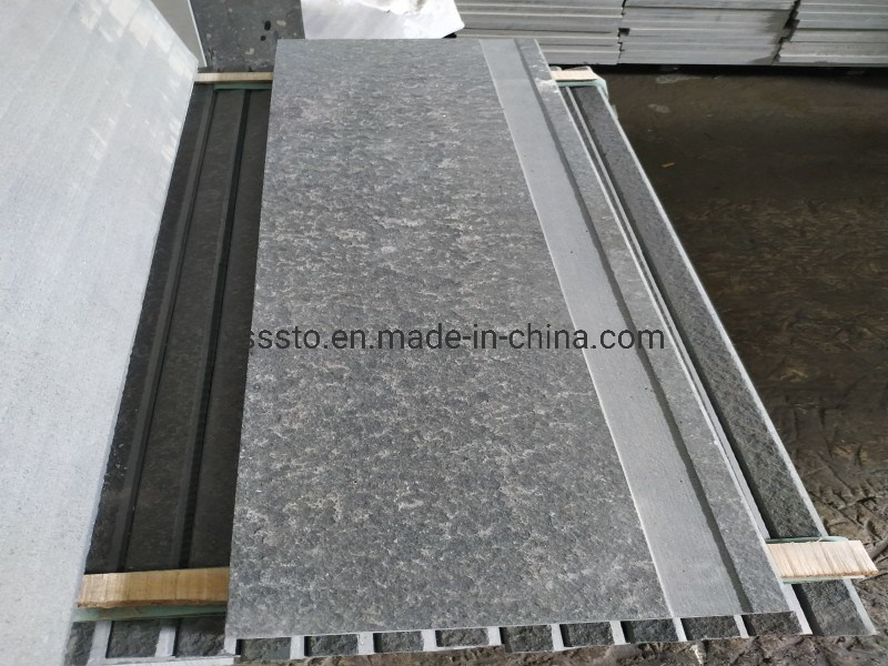 New G684 Black Granite for Stairs and Risers pictures & photos