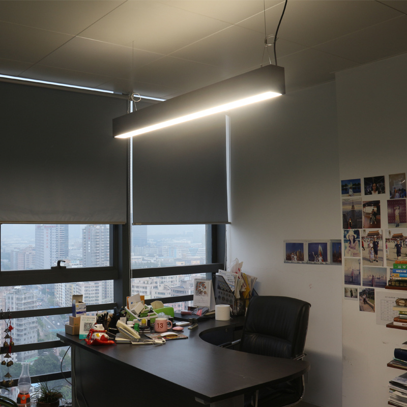 Hot Item 0 10v Dimming Suspended Up And Down Led Linear Trunking Lighting For Office