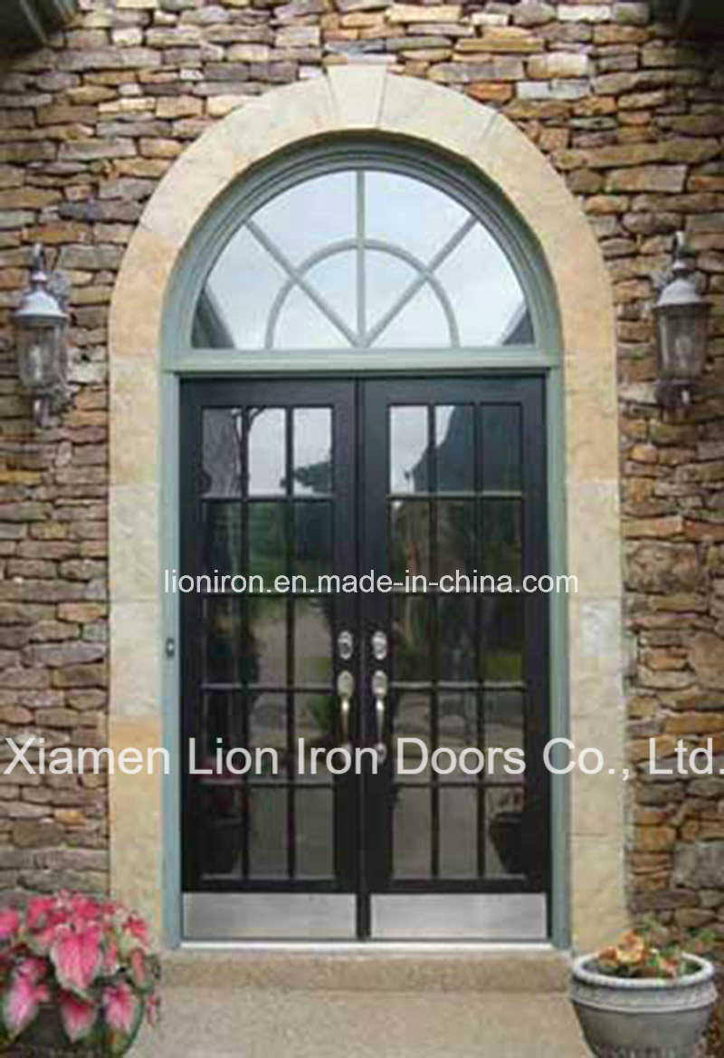 China Forged Iron Door Main Entry Screen Doors For House China