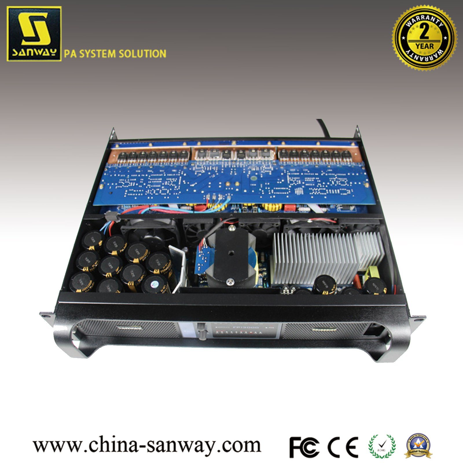 china high power 2x1450w8ohm pro audio amplifier mosfet sanway