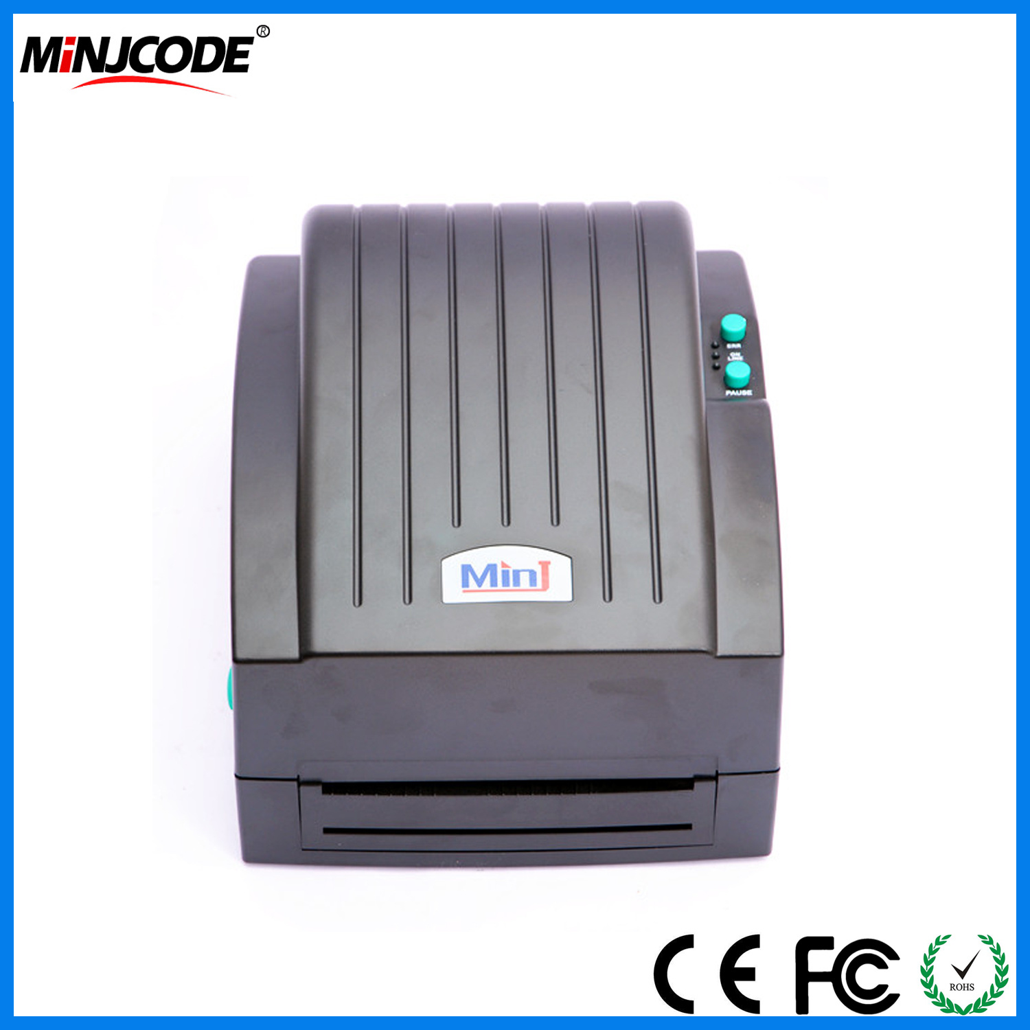 China factory supplied desktop compact 1d 2d barcode printer label making machine label sticker printer mj720 china label printer barcode printer