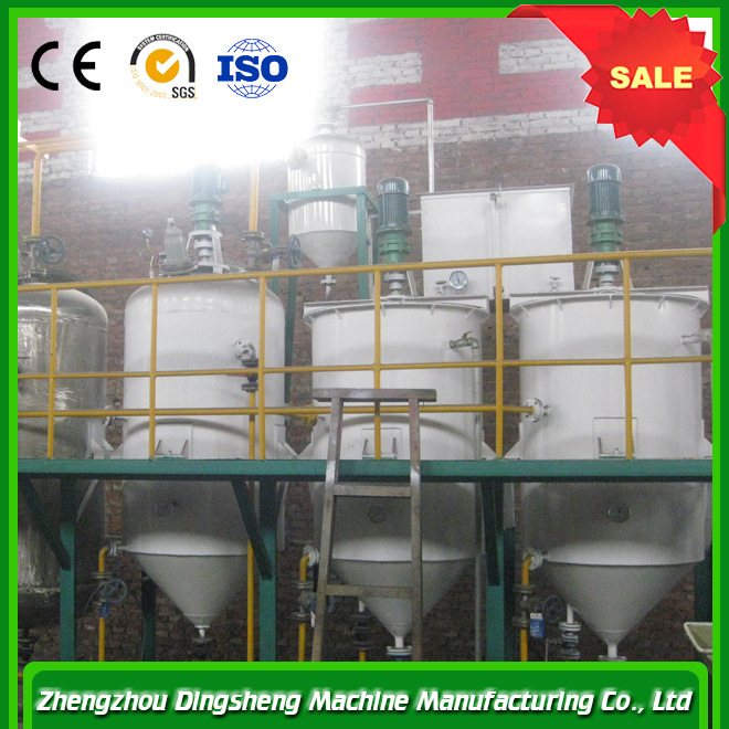 Crude Canola Seed Oil Production Line