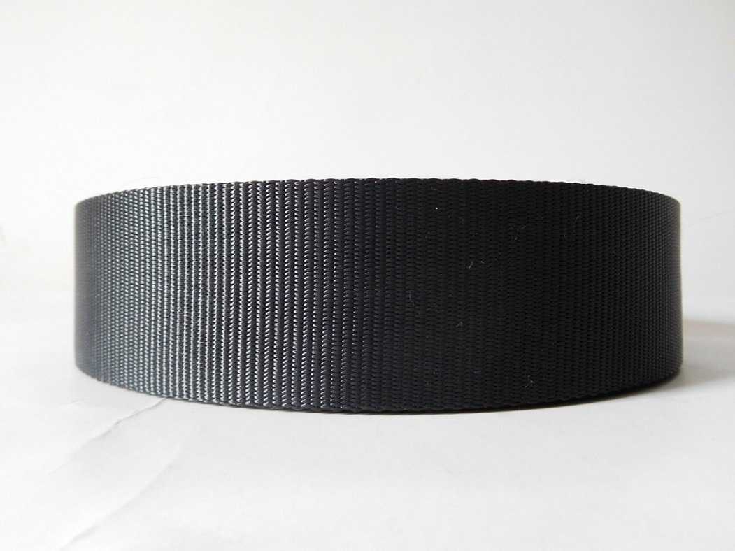 45mm Black Polyester Webbing for Car Safety Belt