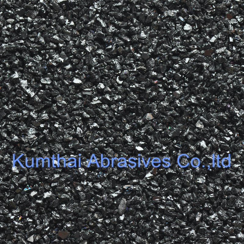 Low Impurity Black Silicon Carbide Powder Carborundum pictures & photos