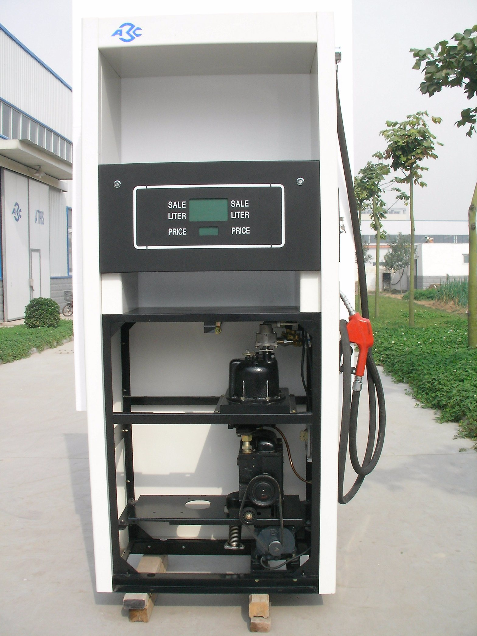 One Nozzle One Pump Oil Station Fuel Dispenser